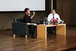 Sharing Leader CEO of Carrefour Indonesia