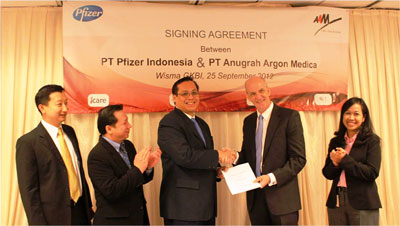 Pfizer and AAM Signs Extension Cooperation Agreement